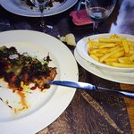 "Steak ""Black Angus"" avec frites"