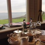 Afternoon tea and the sea