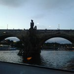 Ponte Carlo dal battello