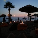 live lounge on the beach