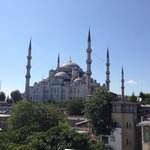 View of Blue Mosque