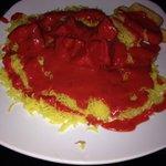Chicken tikka masala. Fantastic!
