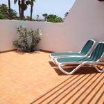 private sun loungers