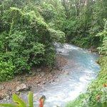 la rivière blue à 2 pas