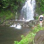 2e cascade où on se baigne après le tour à cheval