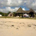 Camping at changani beach resort