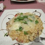 risotto with sausage and parmesan