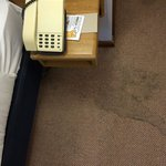 Ugh whole carpet appalling - room 006, 124 worse