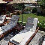Comfy sun beds