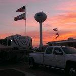 Beautiful Sunset at Destin West RV July 2014