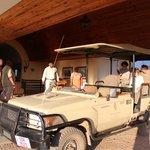 Preparing safari tour