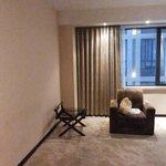 Área de estar do apartamento