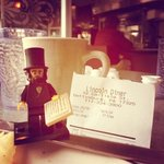 Even Lego Abe Lincoln loves this place!