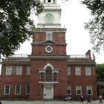 The actual FRONT of Independence Hall