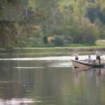 Fly-fishing at Bondieu Lake