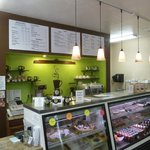 Dori's Cafe cheerful counter