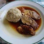 roast pork and dumpling