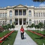 entrata del Palazzo Dolmabahçe