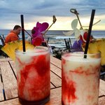 Lava flows - the big island signature drink