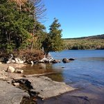 A view at Acadia National Park