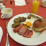 Breakfast Buffet - with Fresh creme filled doughnuts