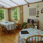 Conservatory and breakfast room