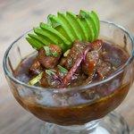 Cebiche de Atún en Salsa de Tamarindo