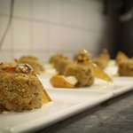 Steamed Pudding with Praline
