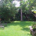 Garden, Villa Ganz Hotel.