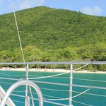 St. John from the boat
