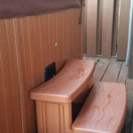 Steps to access Hot Tub