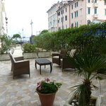 hotel gardens by the reception