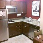 nice small kitchen area