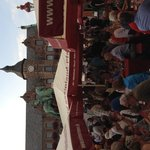 City Hall in Wine Festival in Aldstadt