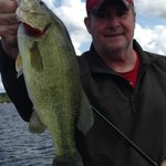 Another great fish from Lake Miltona, MN during our stay at Woodland Resort in July. See review