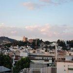 Vista de La Alhambra desde habitación