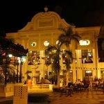 Area de La Plaza en la que se ofrecían noche tras noche shows en vivo