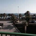 Seaview from balcony first flour room block 1