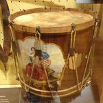 Field Drum on display in visitor's Center Museum