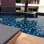 Pool access from room on level 3