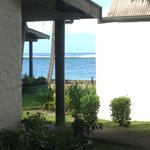 View from the front verandah of Bure 90