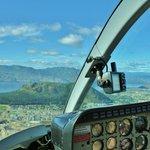 cockpit view of Mt Boucherie