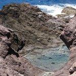 Tide Pools - piscinas naturais na área vulcânica