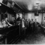 Inside nearby Sulatana Bar, about 1920