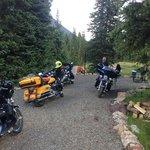 Our campsite at Molas Lake