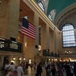 Grand Central Station & the US Flag