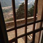Vistas desde el ventanal de la habitacion