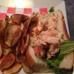 lobster sandwich, second half left  =0