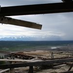 View from the top of Kennecott mine