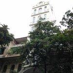 Hotel front, so Hanoi!